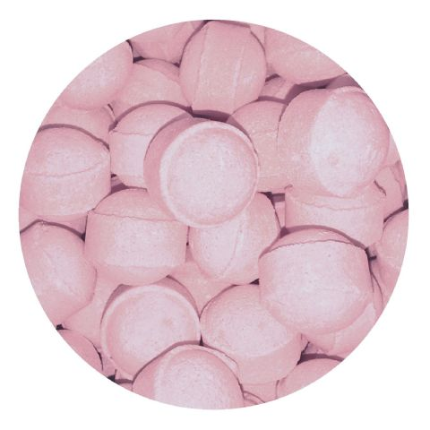 30 x Baby Powder Mini Bath Marbles Fizzers Bath Bubble & Beyond 10g Each
